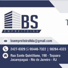 BS.EMPREITEIRA - Empreiteira e construtora, Gesso / Drywall, Hidráulica, Pedreiro, Pintura, Restauração de pisos, Revestimentos, Telhado