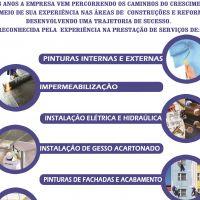 JC Construções e Reformas - Impermeabilização, Gesso / Drywall, Pintura, Hidráulica, Elétrica