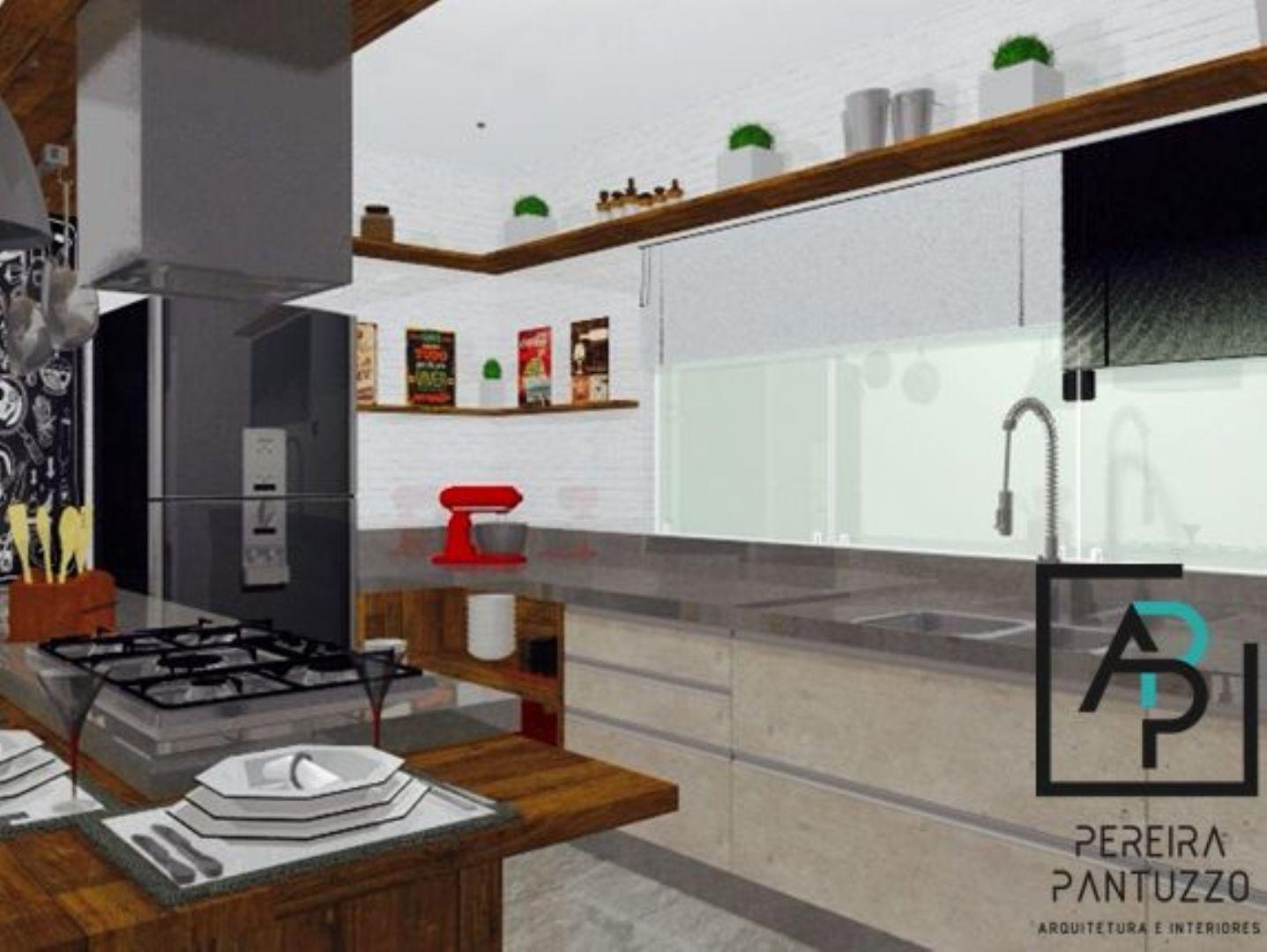 Cozinha Estilo Industrial Por Pereira Pantuzzo Arquitetura E