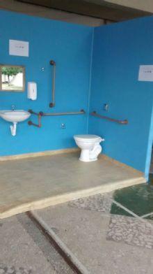 Banheiro de Acessibilidade para Cadeirante
