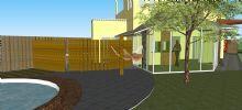 casa contemporânea sustentável