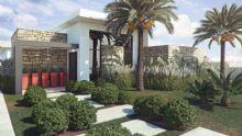 Fachada Residência 60+<br>Casa Térrea voltada para terceira idade ou pessoas com necessidades especiais