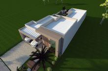Casa Térrea Fachada Moderna