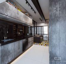 Decoração e Design - Apartamento - Estilo Industrial