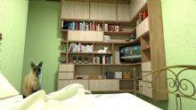 Design de Interiores - Projeto de marcenaria - Estante para Dormitório