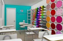 Estoque e sala  de aula proposta