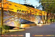 Espaços Jardim do Remo e Passeio das Artes. Projeto ART | Righi + Tessari para a Mostra EliteDesign 2017.