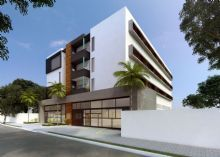 Proposta de edifício para apartamento de estudantes em Ourinhos-SP RUA043 Arquitetura  Imagem Bruno Mazetto
