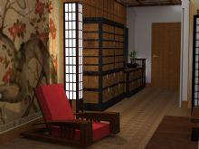 Quarto estilo oriental