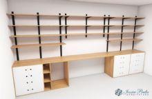 Projeto do mobiliário