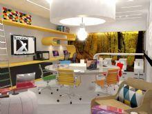 Sala de criação e midia Holográfica