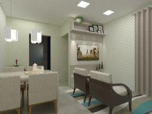 Sala Estar e Jantar - Residencial Ambar
