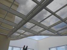telhado de vidro orgânico em balanço sem tirantes em cobertura de duplex2